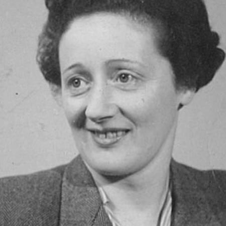 Bertha's moeder, 1942.