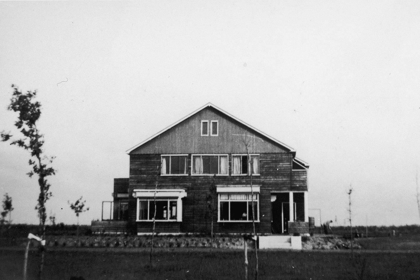 De commandantswoning van kamp Westerbork.