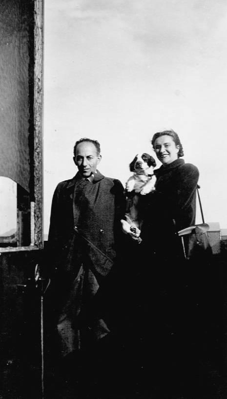 Eli en Djumka in 1946.