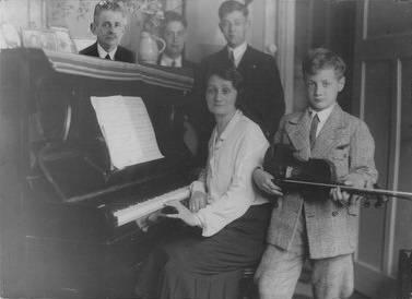 De familie van Jacob d'Ancona