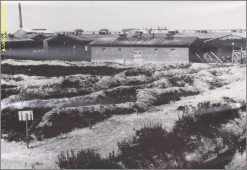 Strafbarak van kamp Westerbork.