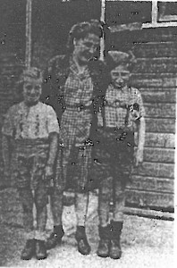 Family in camp Westerbork.