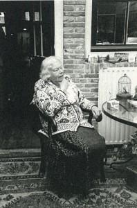Betsie op latere leeftijd.