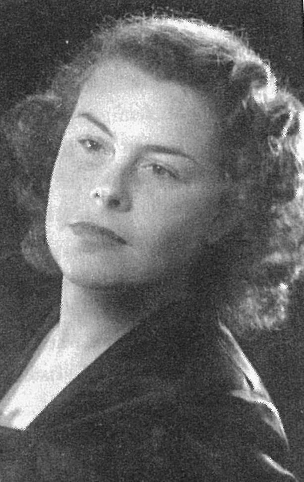 Betsie van den Bergh.