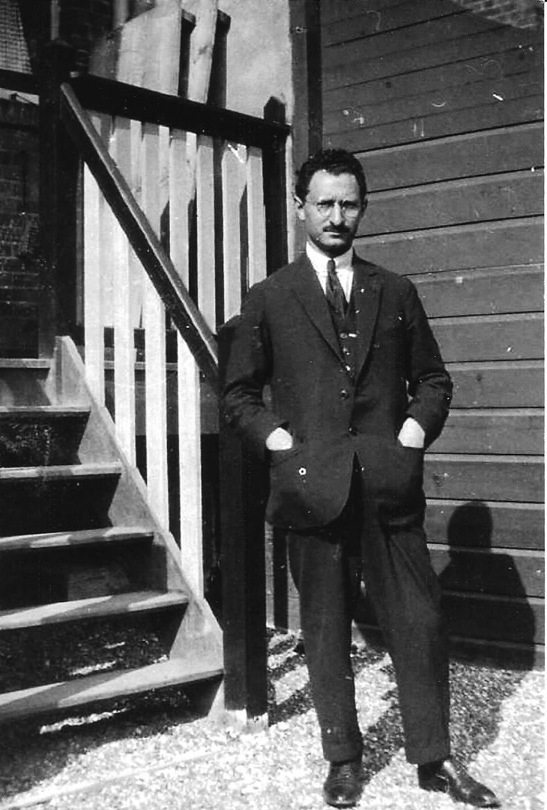 Henri Blitz in 1925.