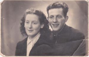 Carolien en Salco in november 1944.