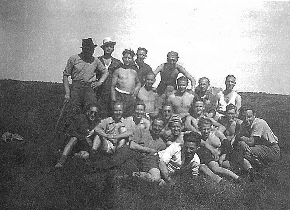 De Joodse jongens in het werkkamp Ybenheer.