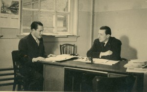 Fritz Grünberg als zakenman in de jaren dertig.