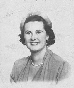 Helga Klau in de jaren vijftig.