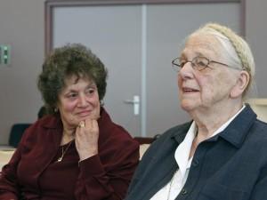 Ursula Holzheim en Sytske van Drooge in 2008.