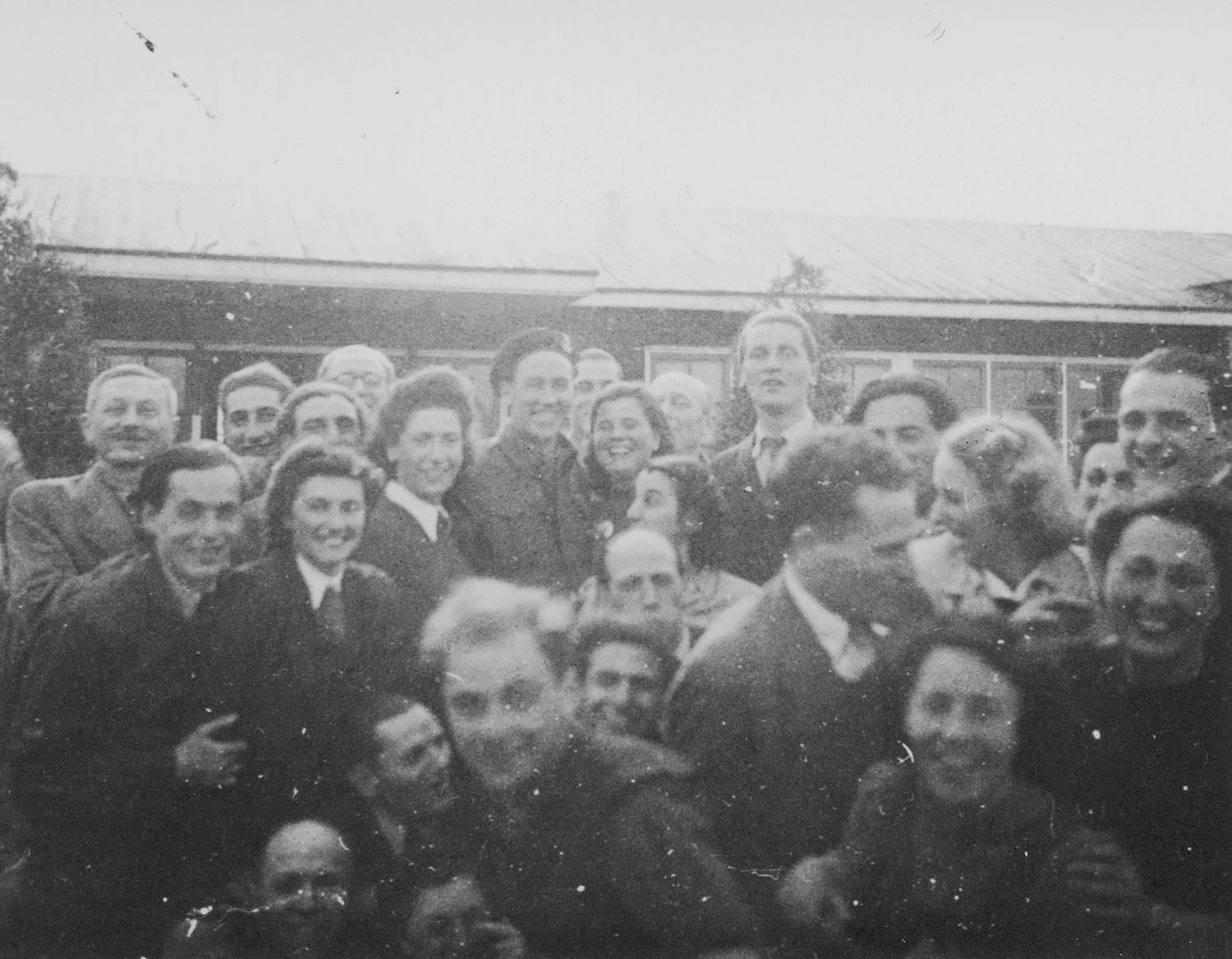 Kamp Westerbork, 12 april 1945.