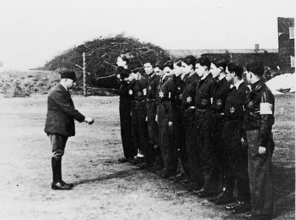 De OD in kamp Westerbork.