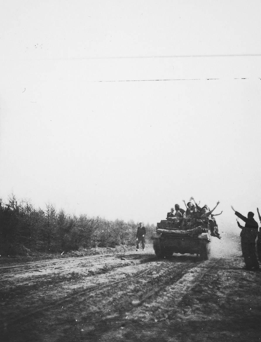 De bevrijding van kamp Westerbork.