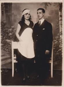 Kurt en Herta, 1934.