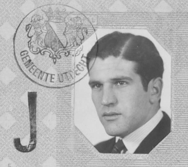 Het persoonsbewijs van Abraham Querido.