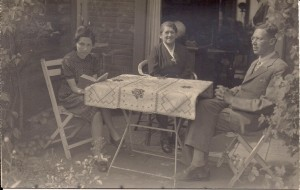 Hilde, Fritz & Marie in 1946.