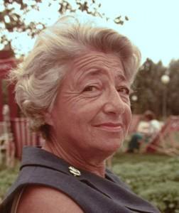 Edith op latere leeftijd.