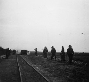 Bevrijding kamp Westerbork.