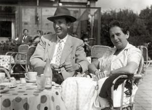 1968. Otto en Lisbeth Birman.