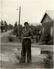 1943. Otto Birman in Westerbork.