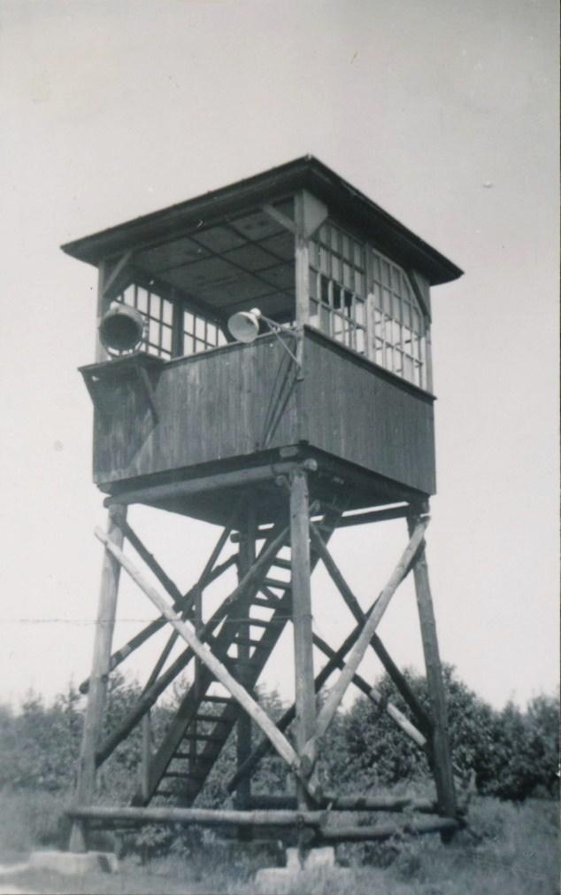 Wachttoren kamp Westerbork.