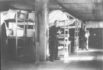 Interneringskamp Westerbork, 1945.
