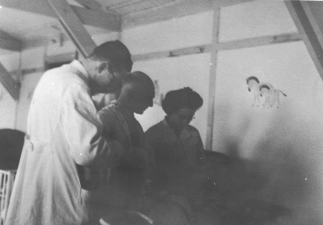 Ziekenhuis kamp Westerbork.