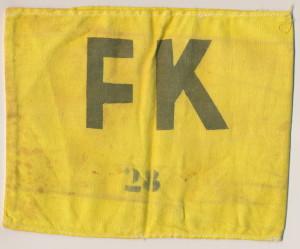 FK-band Liesel uit kamp Westerbork.