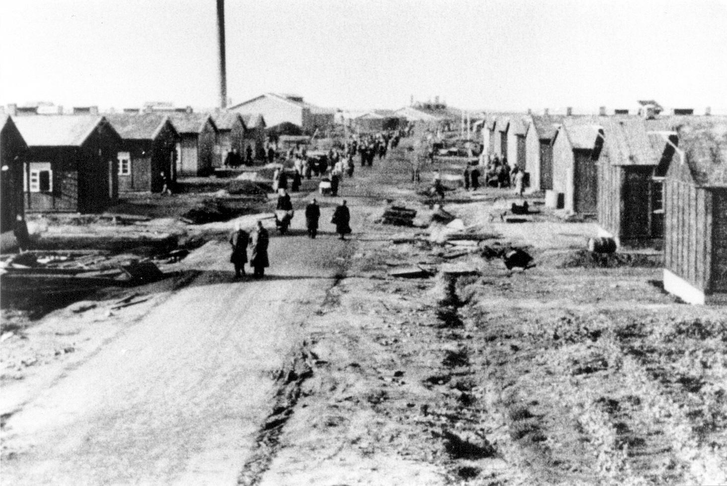 De Boulevard des Miseres, waaraan ook barak 44 gelegen was.
