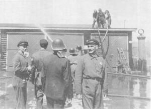 De OD aan het werk in kamp Westerbork.