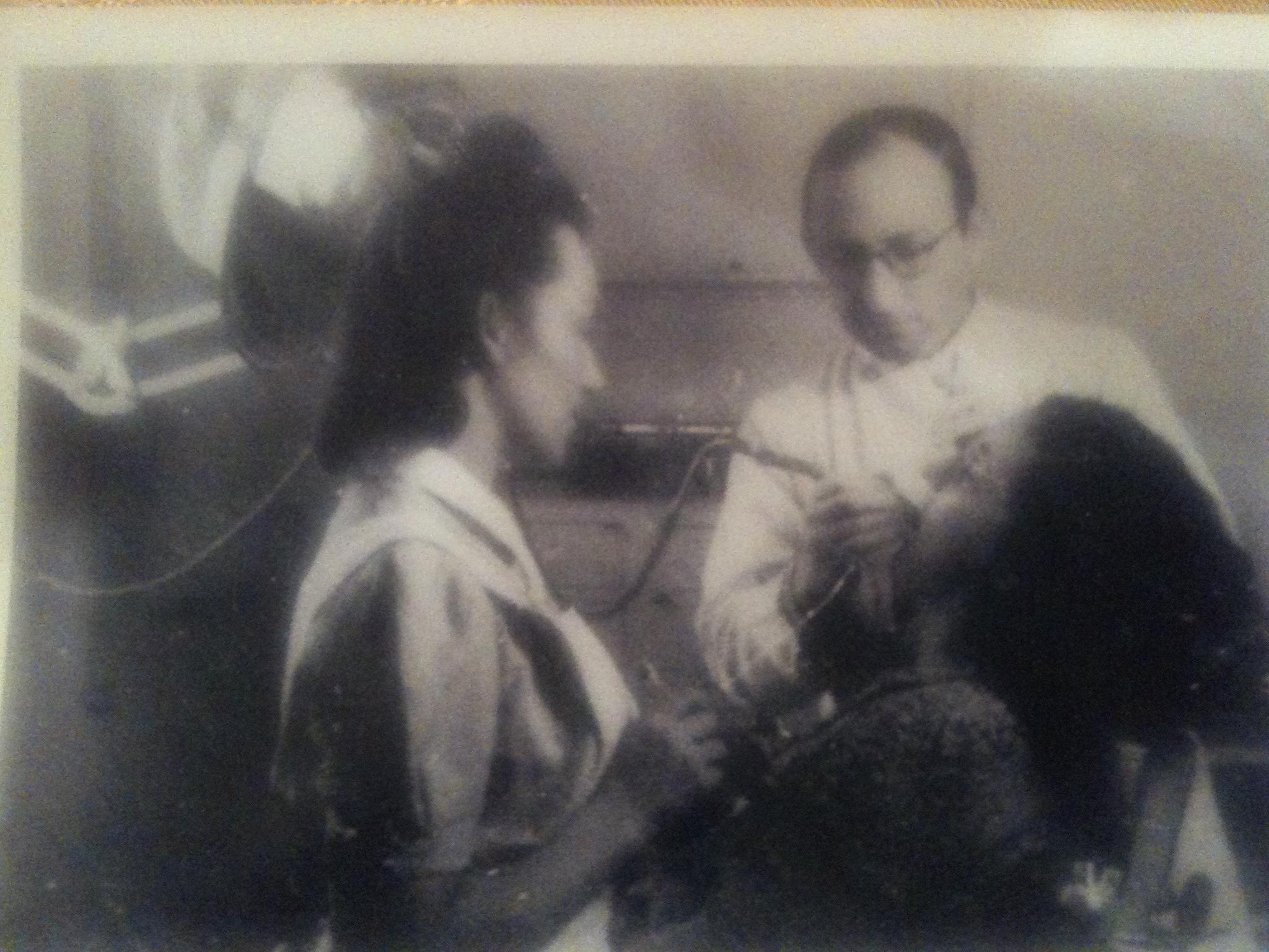 Het beeld uit de Westerborkfilm.