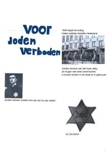 De anti-Joodse maatregelen.