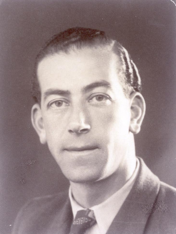 Fred Goldstein in kamp Westerbork.