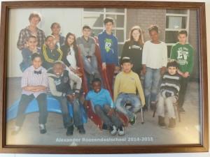 Alexander Roozendaalschool, groep 8.