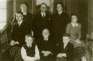 Het gezin IJzerman.