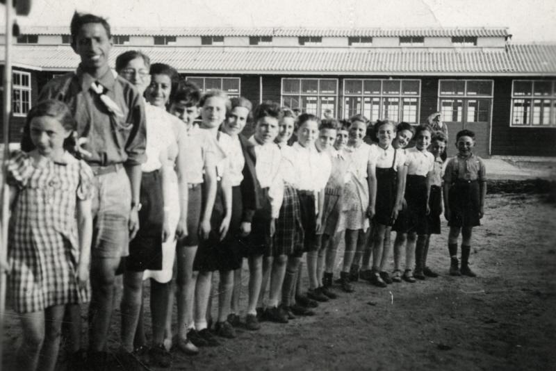 De Schülerkreis in 1939/1940.