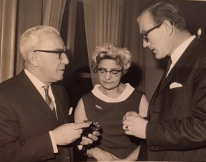 Hartog, Hendrikje en Nico na de oorlog.