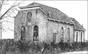 De synagoge van Beilen.