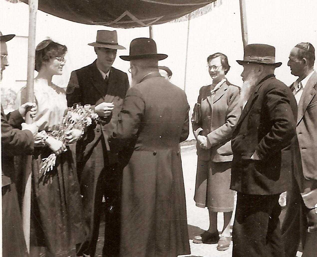 Het huwelijk tussen Isidor en zijn derde vrouw Anneke.