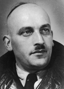 Portretfoto Kurt Schlesinger, kamp Westerbork.